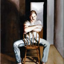 Self portrait in watercolor